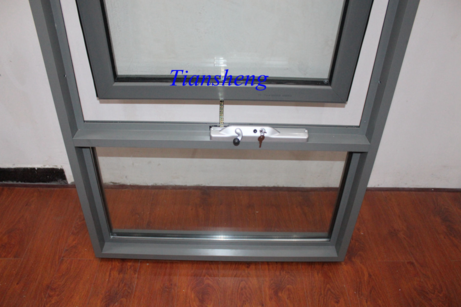 Double Glazing Australia Style Aluminum Awning Window Aluminium Top Hung With Crimsafe Screen