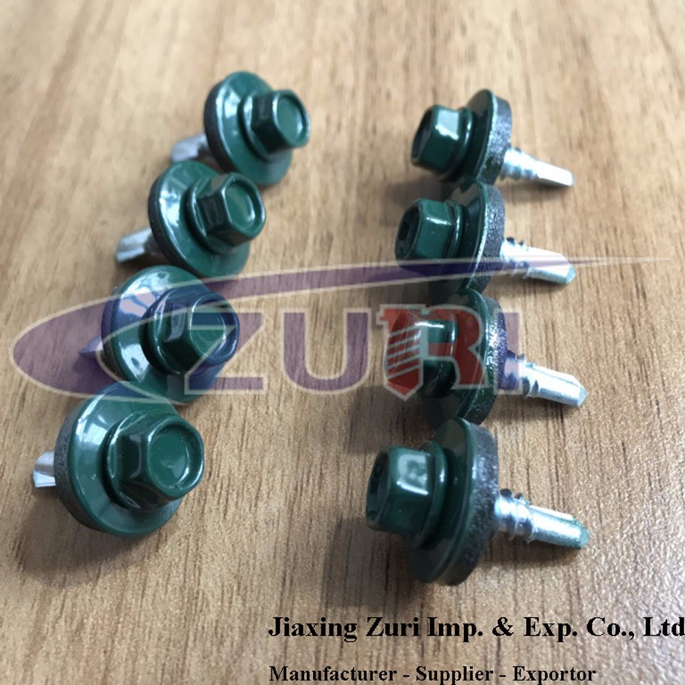 Roofing Screw 5.5X19 Ral 6005 pictures & photos