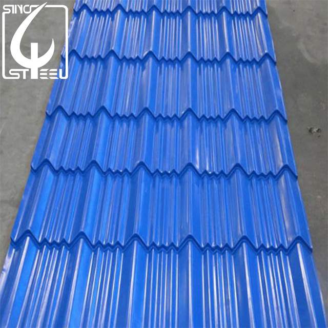 China Best Price Hot Sale Galvanzied Roofing Sheet Corrugated Steel Sheet China Corrugated Roofing Sheet Ppgi Steel