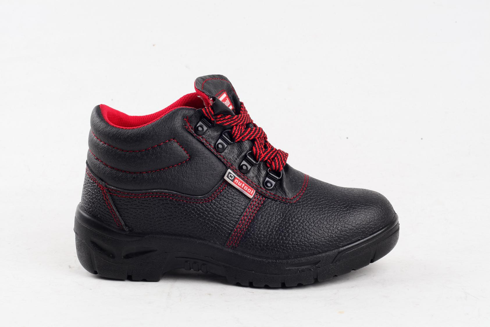 S1p Full Grain Leather/Cow Split Leather Safety Shoes Sy5005