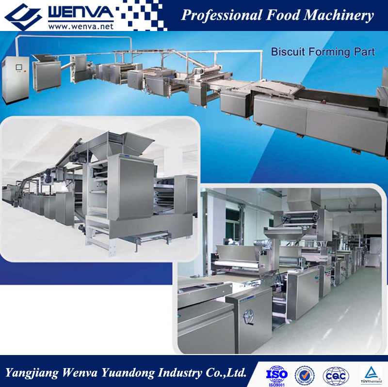 Wenva Full Automatic Biscuit Making Machine