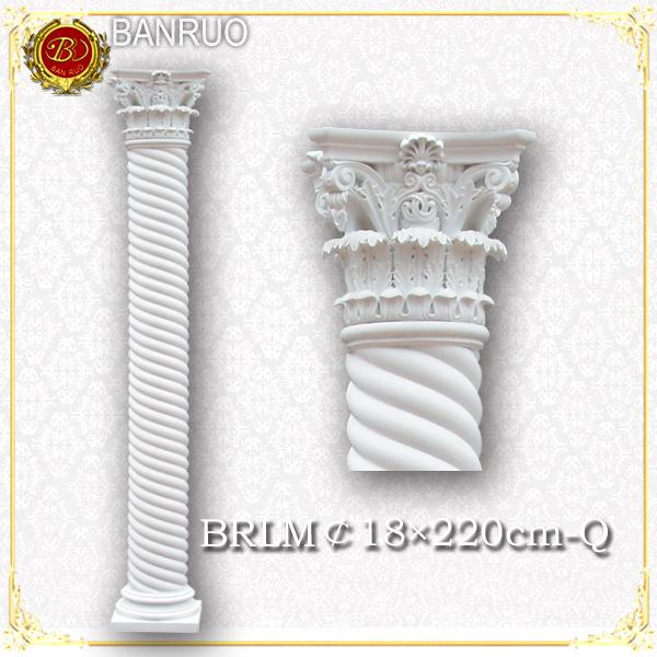 China White Roman Column Wedding Pillars For Wedding Decoration