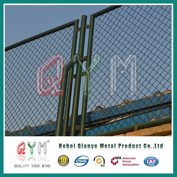 China PVC Coated Chain Link Fence Panels/Home & Garden Diamond Mesh ...