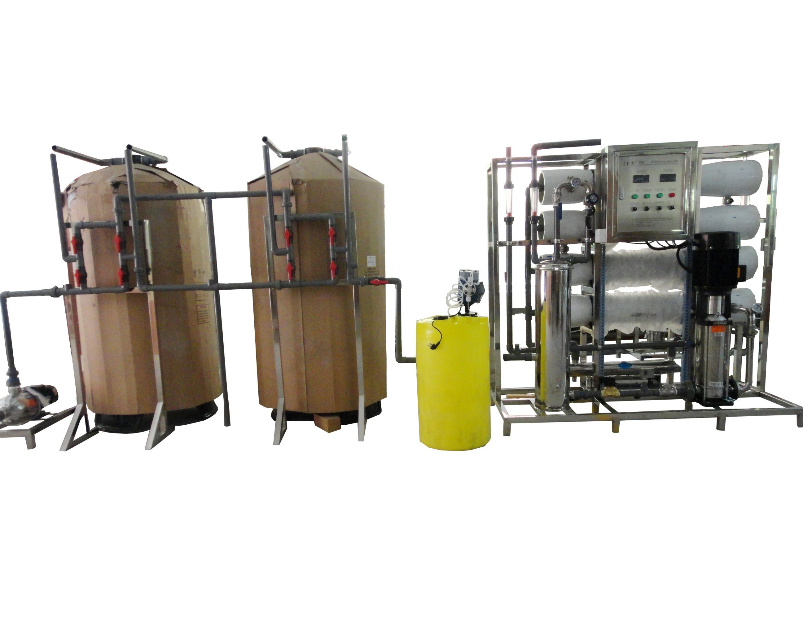 China 4000L H Ce Approved Reverse Osmosis Device Water Purifier