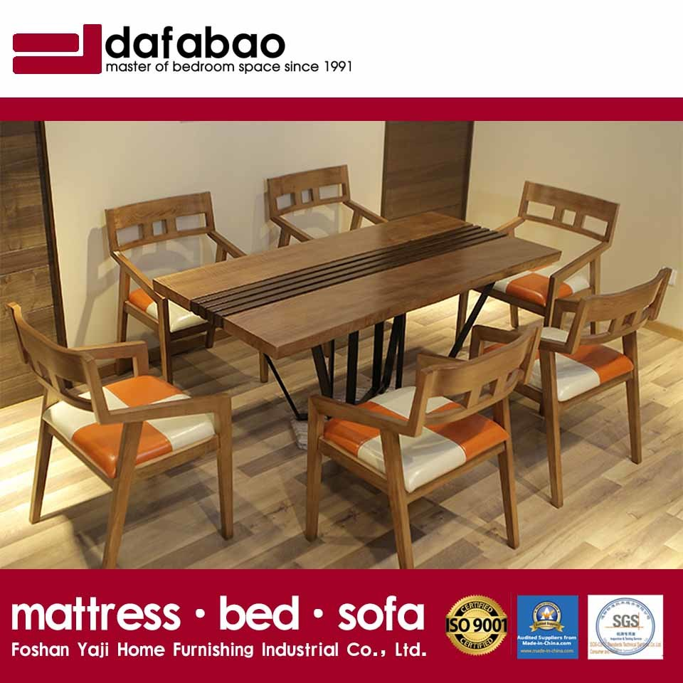 China Modern Restaurant Dining Room Furniture Wooden Table