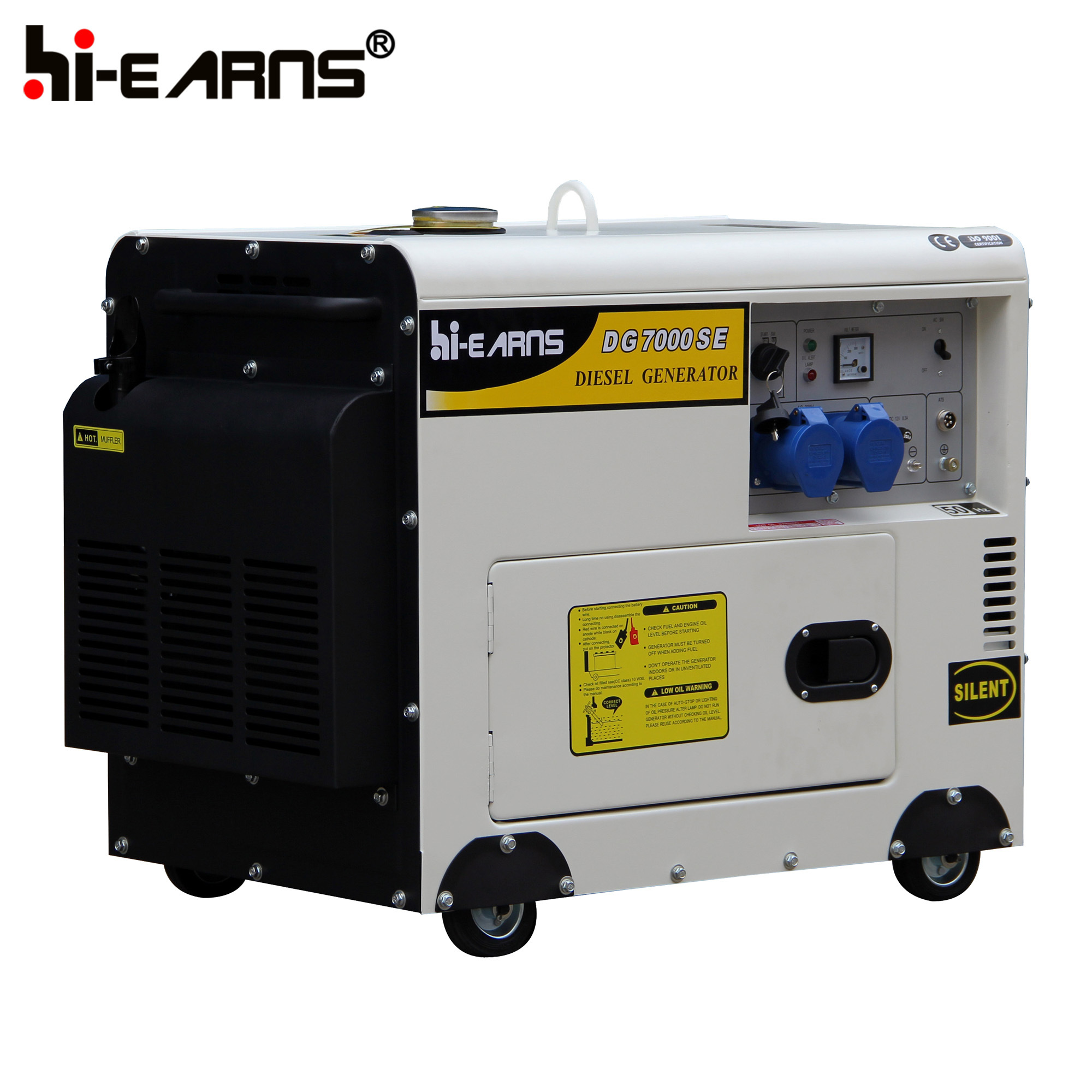 China 7kVA Automatic Start Generator Portable Diesel Generator