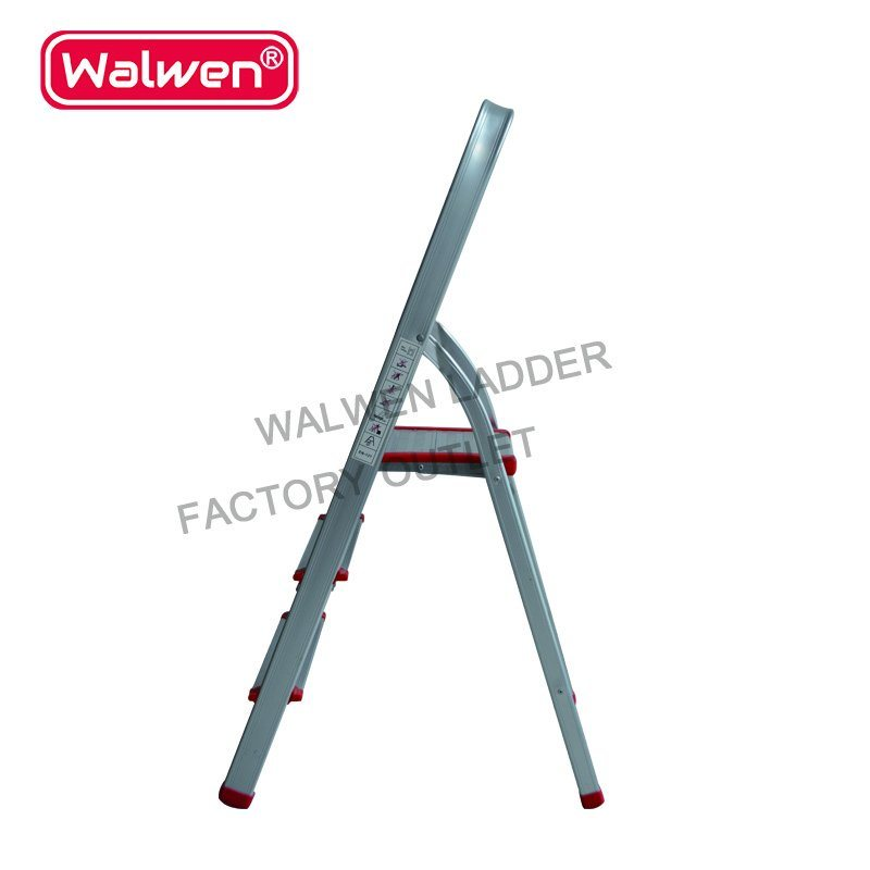 China a Frame Folding Portable Ladder Sizes 4 Step Household ...