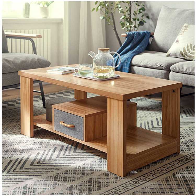 China Factory Price Wooden Modern Tea Table Living Room Center Table Coffee Table China Tea Table Coffee Table