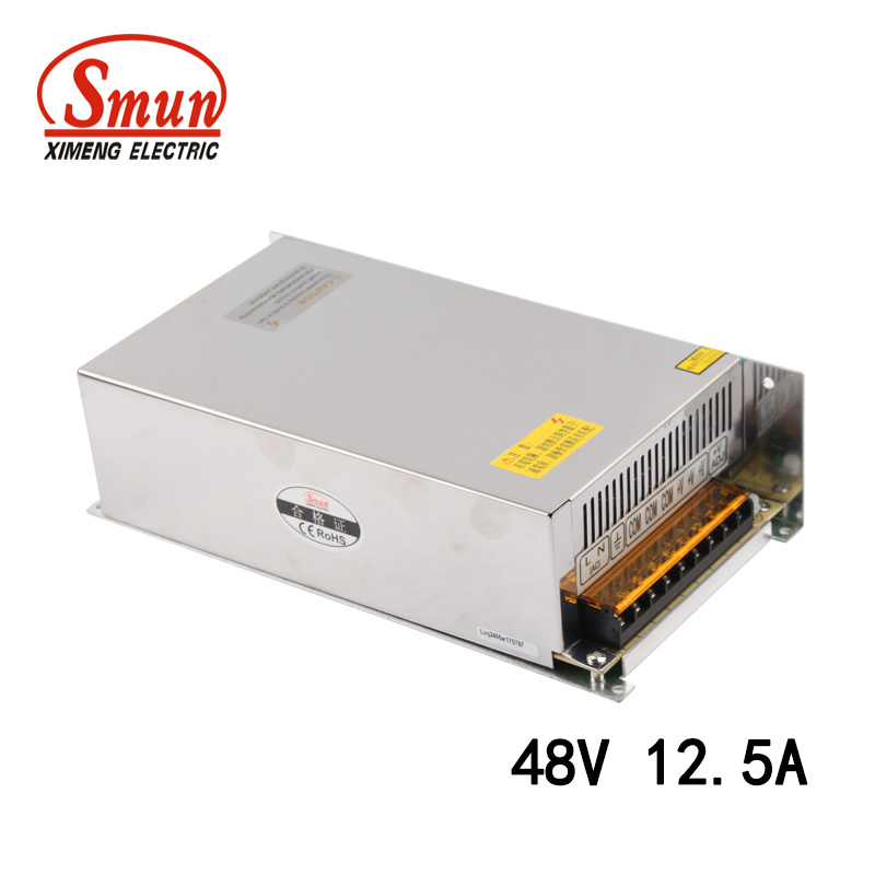 600W 40A 15VDC Output 110//220VAC Input LED Switching Power Supply Regulated