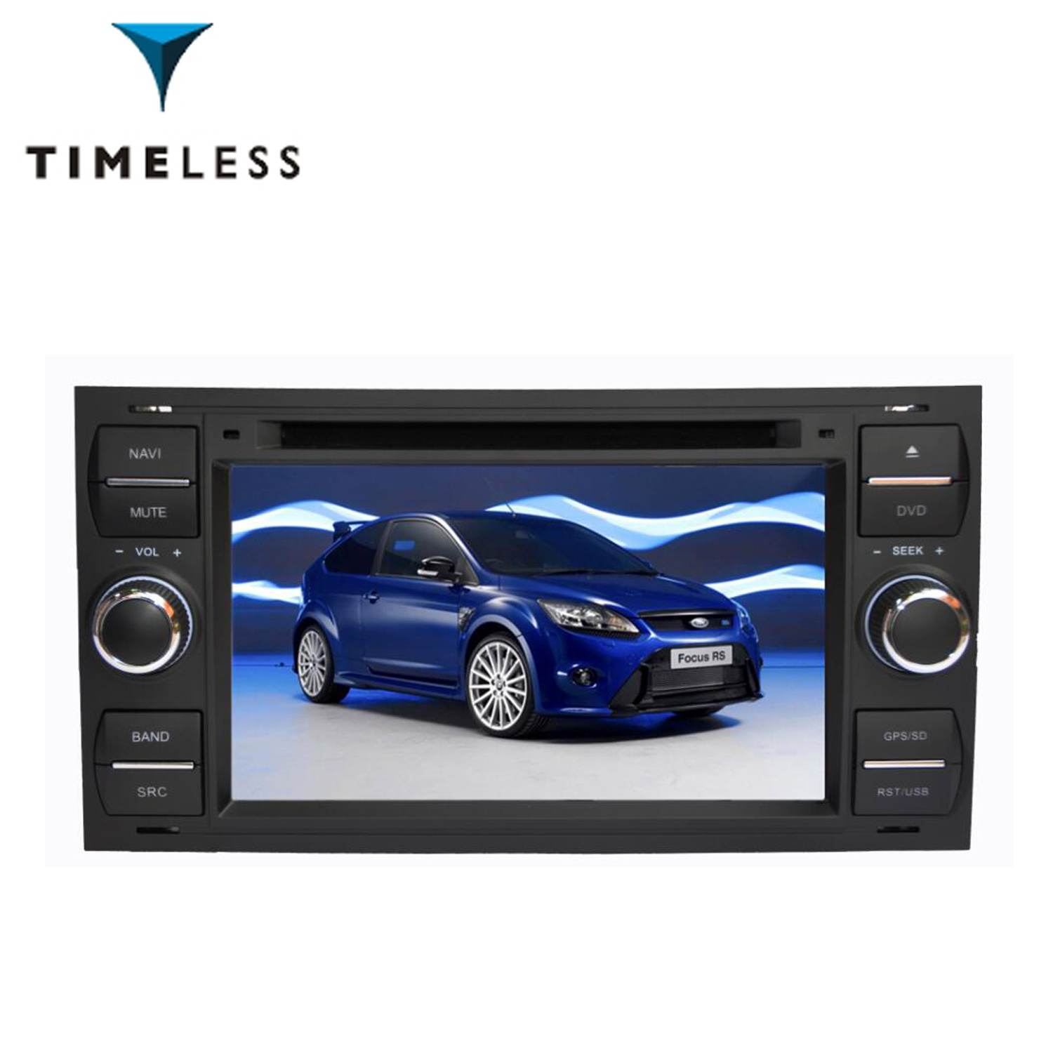 China Android 71 S190 Platform 2 Din Car Audio Video Gps Dvd Player Old For Ford Focus Mondeo With Wifi Tid Q140