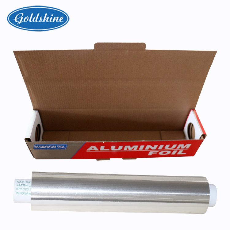 10 Micron Household Aluminium Foil Rolls pictures & photos