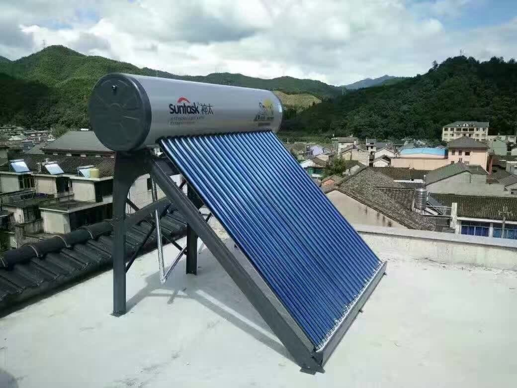 China 200L Non Pressure Solar Water Boiler with Low Price and High ...