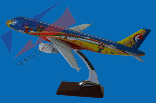 Customized Resin Plane Model (A320)