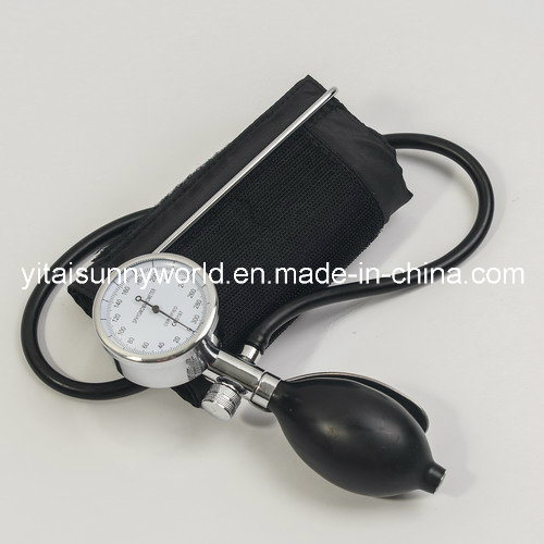 Palm Type Sphygmomanometer with Single Tube or with Double Tube (SW-AS10)