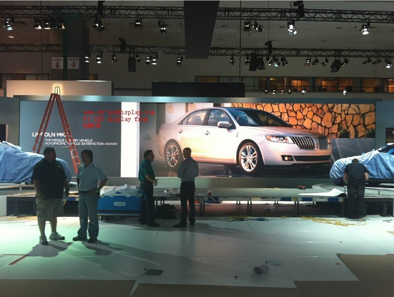 China P SMD LED Display Board For Car Show CE FCC China Led - Car show display boards