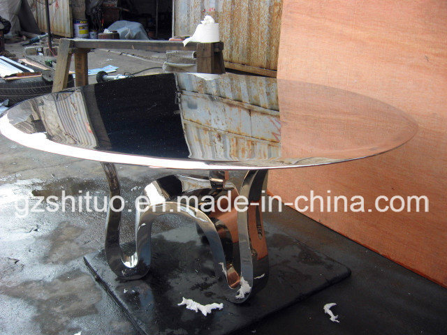 Stainless Steel Table Professional Production of Metal Stainless Steel Creative Furniture, Metal Sculpture Handicraft Art, Can Be Customized pictures & photos