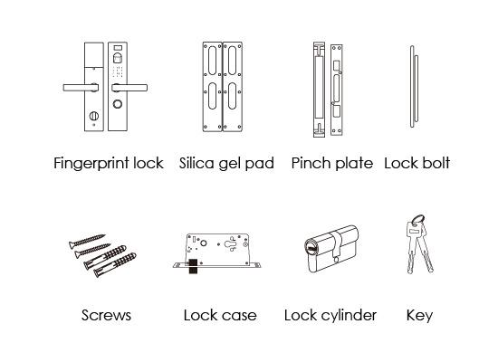 fingerprint lock unitech security co limited page 1