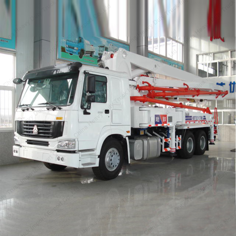 Sinotruk HOWO Brand 37m Concrete Pump Truck with High Quality