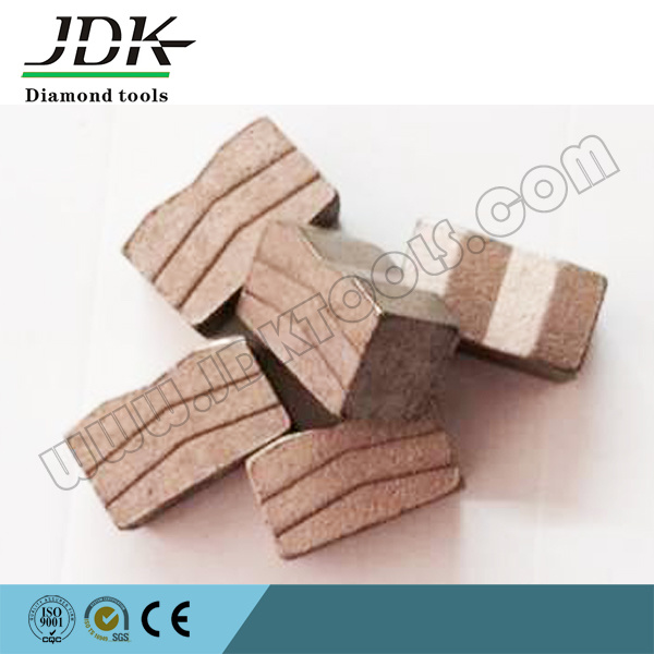 Sandwich Diamond Tool Blade Segment for USA Blue Stone Cutting pictures & photos