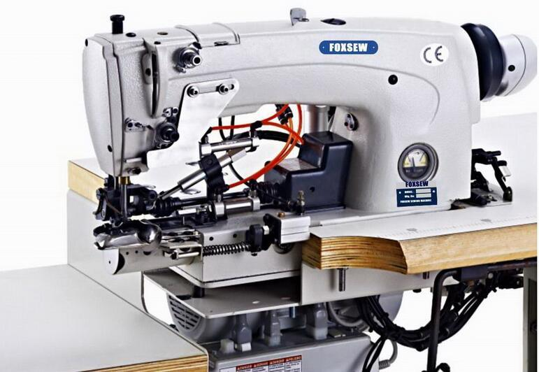 China Automatic Jeans Bottom Hemming Sewing Machine China Stunning Automated Sewing Machine Co Ltd