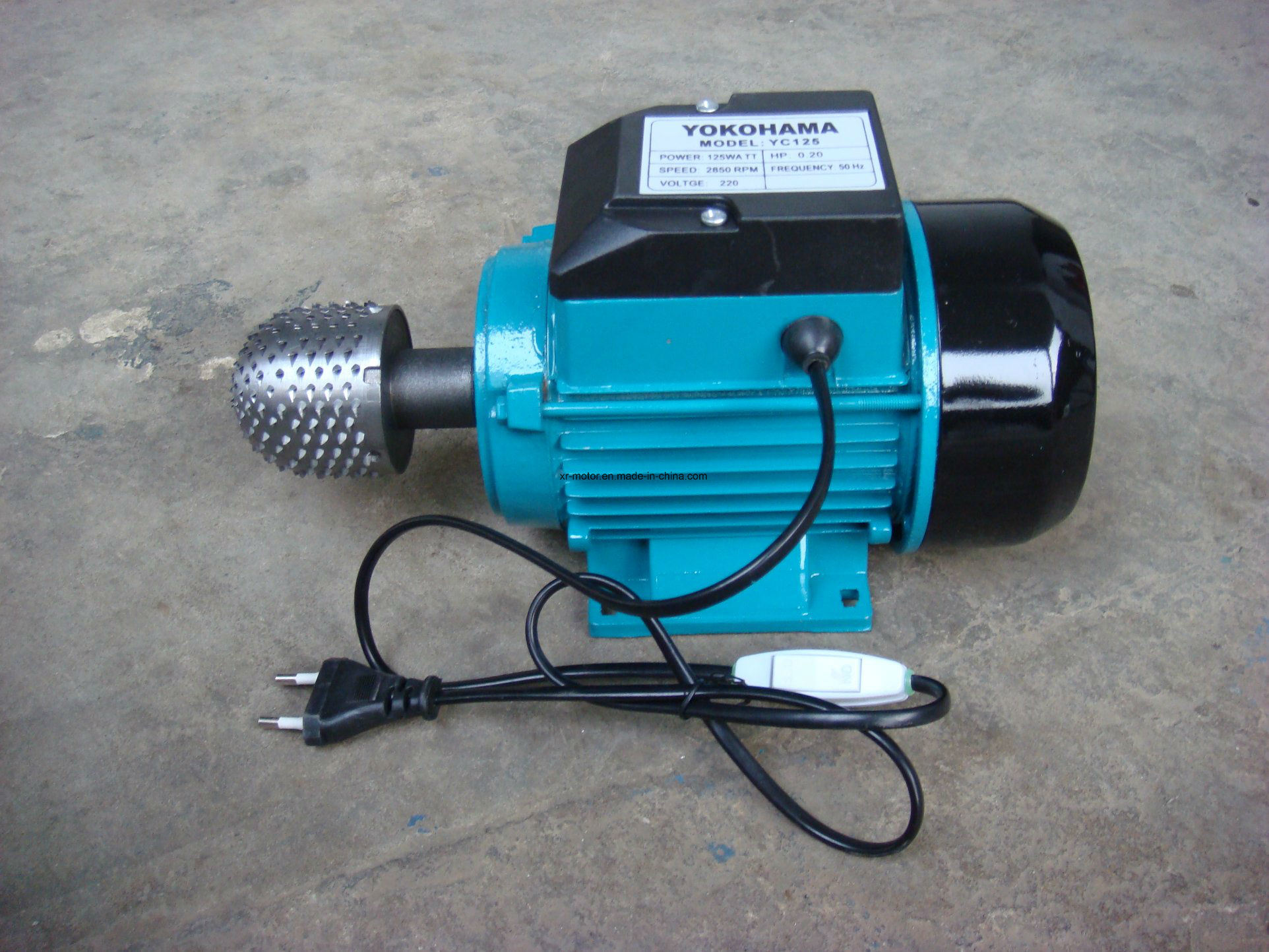 China Single Phase 2HP 2800 Rpm Electric Motor Photos & Pictures ...