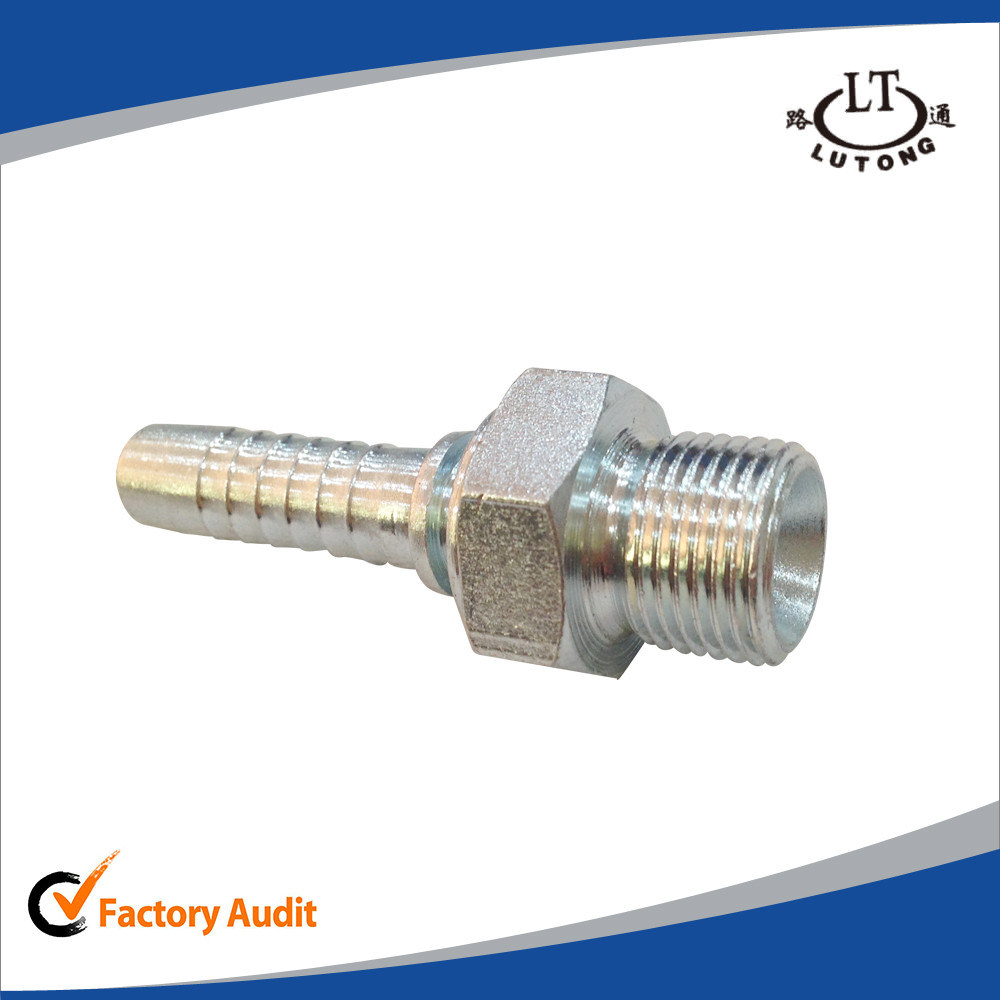 Male 60 Degree Bsp Pipe Fittings pictures & photos
