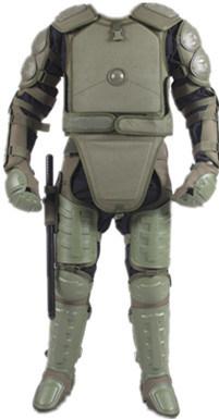 [Hot Item] Green Police Body Armor Bomb Suit