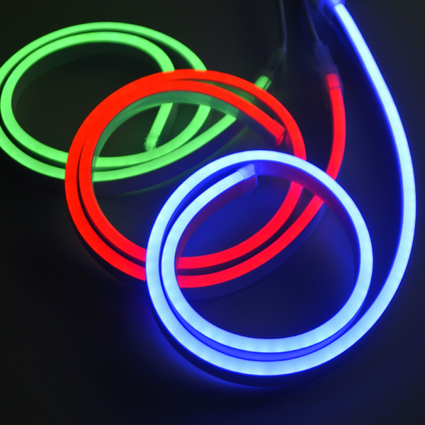 waterproof Mini LED Neon Light Flexible Rope Christmas Lighting
