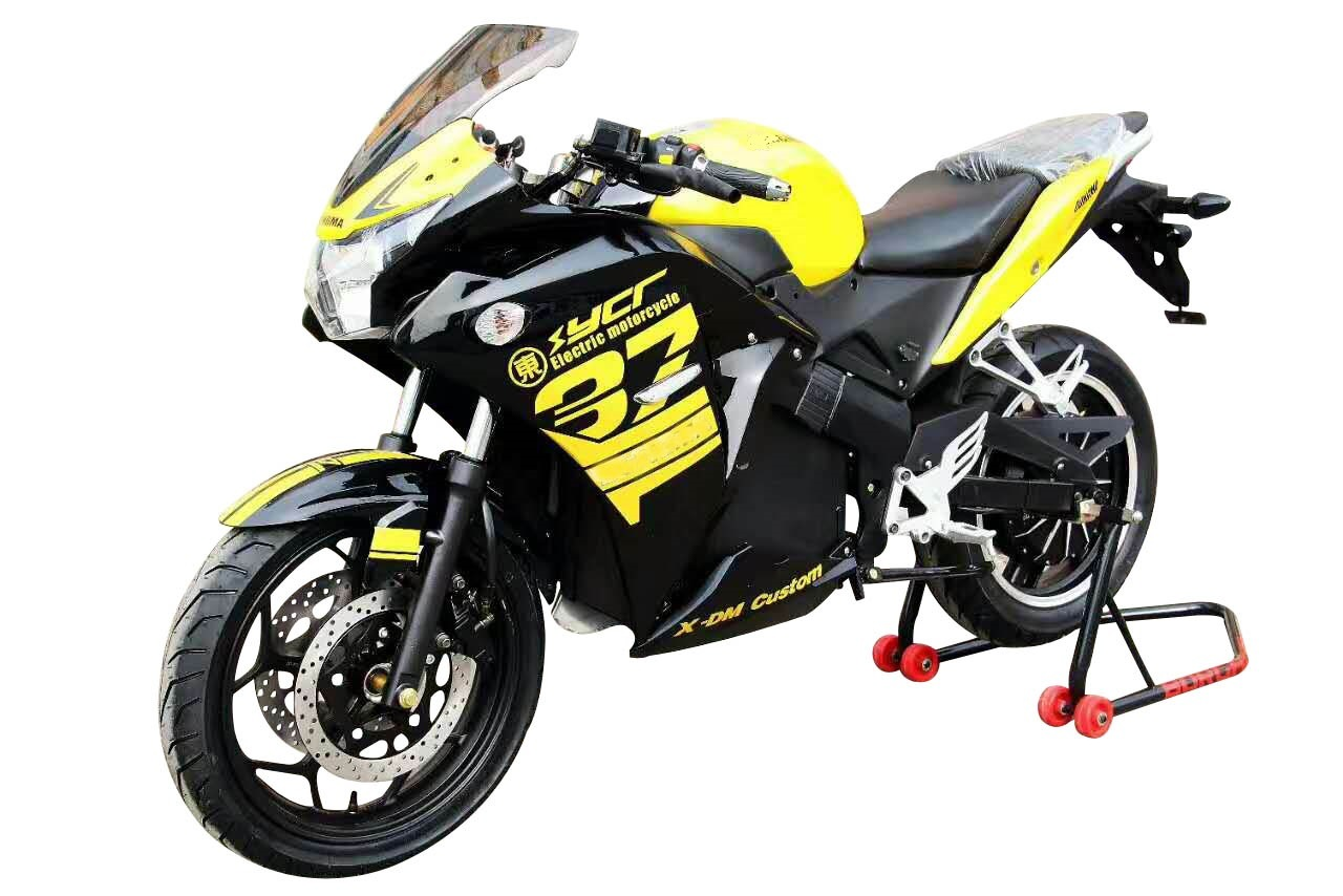 Super Speed 110km/H 72 80ah Electric Motorcycle Lithium Battery Lcy pictures & photos