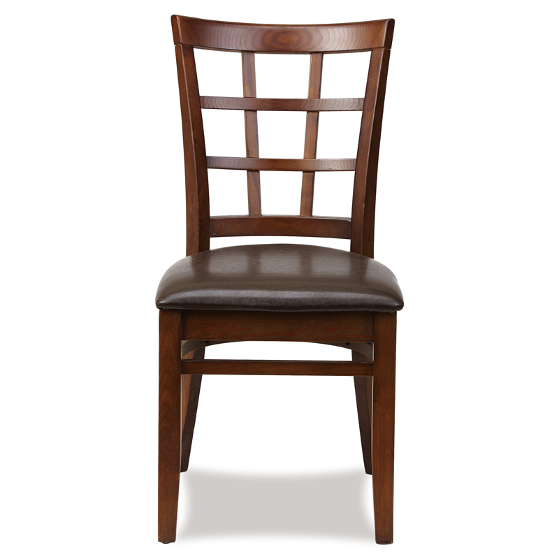 Simple Wooden Restaurant Dining Chairs