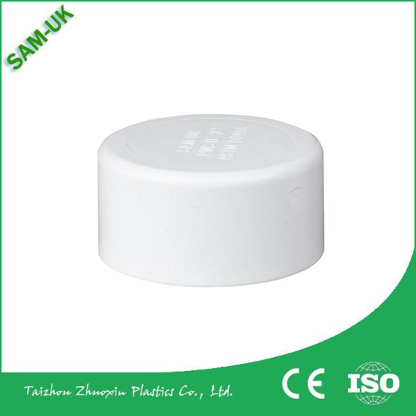 China Sch40 ASTM D2466 White 2 1 PVC End Cap An02