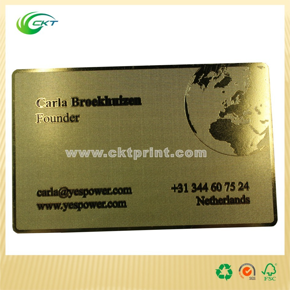 China New Style Business Cards with Cheap Price (CKT-PC-731) - China ...