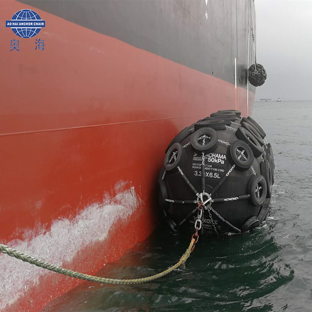 Boat Inflatable Marine Fender Pneumatic Rubber Fender China Manufacturer with Good Price pictures & photos