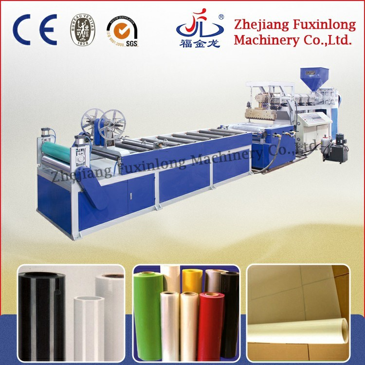 Fjl-PC-C Horizontal Mono-Layer Flow Cating Film Extrusion Line