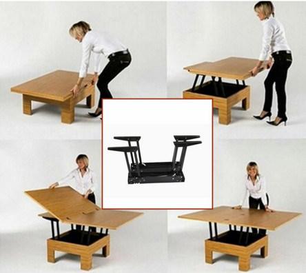 convertible furniture kitchen foshan factory supply living room furniture folding convertible table mechanism china