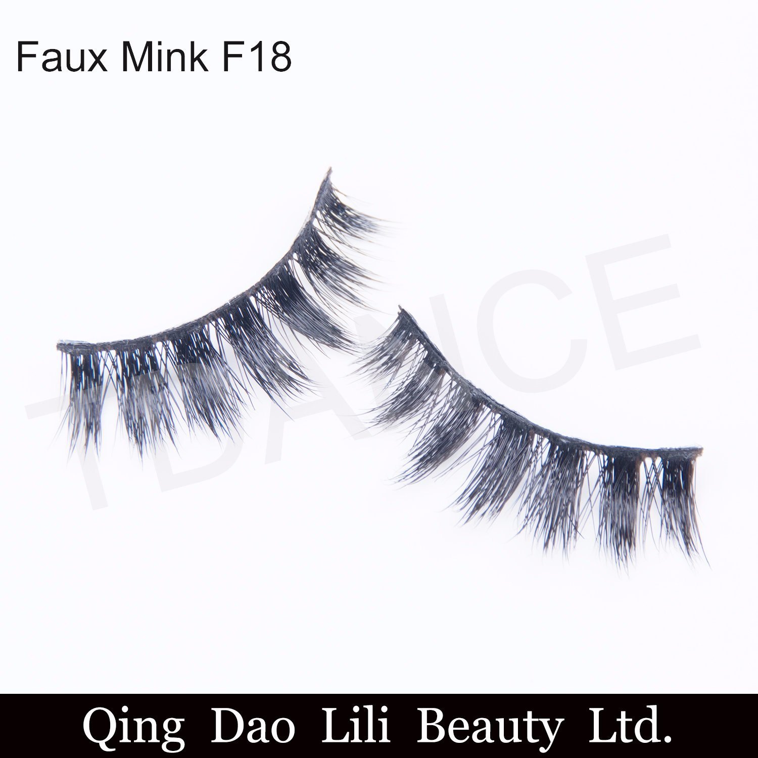 China Wholesale Price Faux Mink Lashes Own Brand Eyelash Synthetic