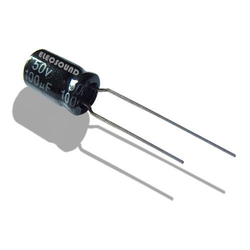 20 x 0.1uF 50V 105C Radial Electrolytic Capacitor 5x11