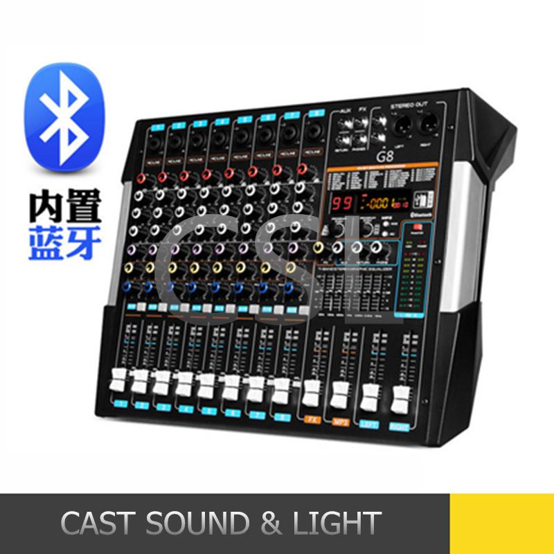 [Hot Item] Audio Karaoke DJ Mixer Controller with Bluetooth and USB