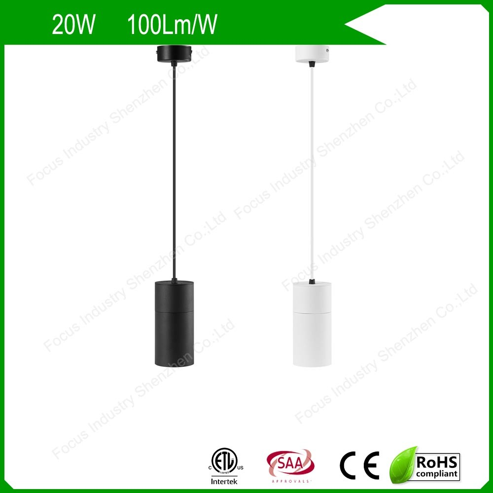 Hot Item 10w 15w 20w 30w Suspended Hanging Retail S Led Track Lighting