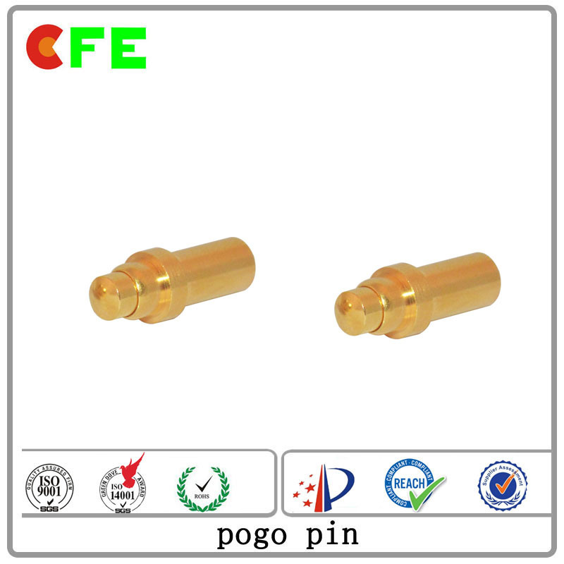 Customized DIP Gold Plated Pogo Pin Factory