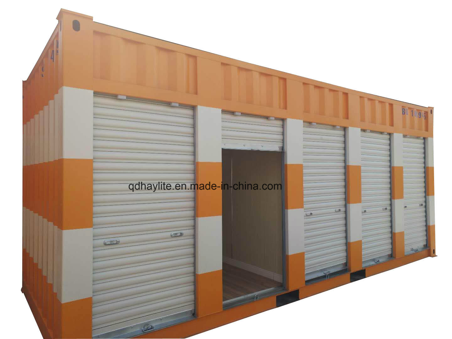 [Hot Item] ISO Container Modified 20FT Used Steel Cargo Storage Container  with Garage Doors