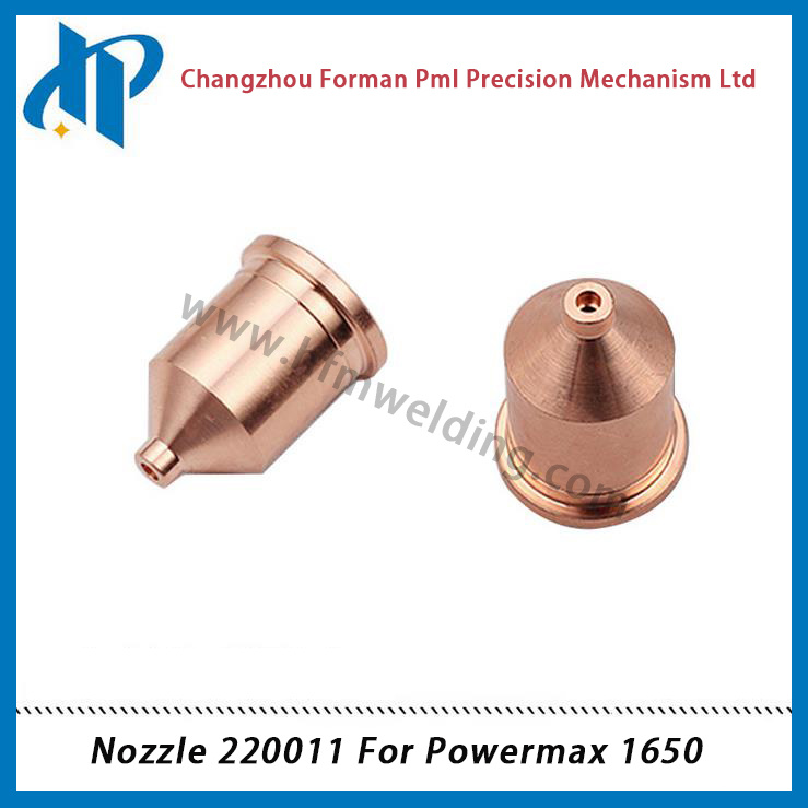 Nozzle 220011 for Powermax 1650 Plasma Cutting Torch Consumables 100A pictures & photos