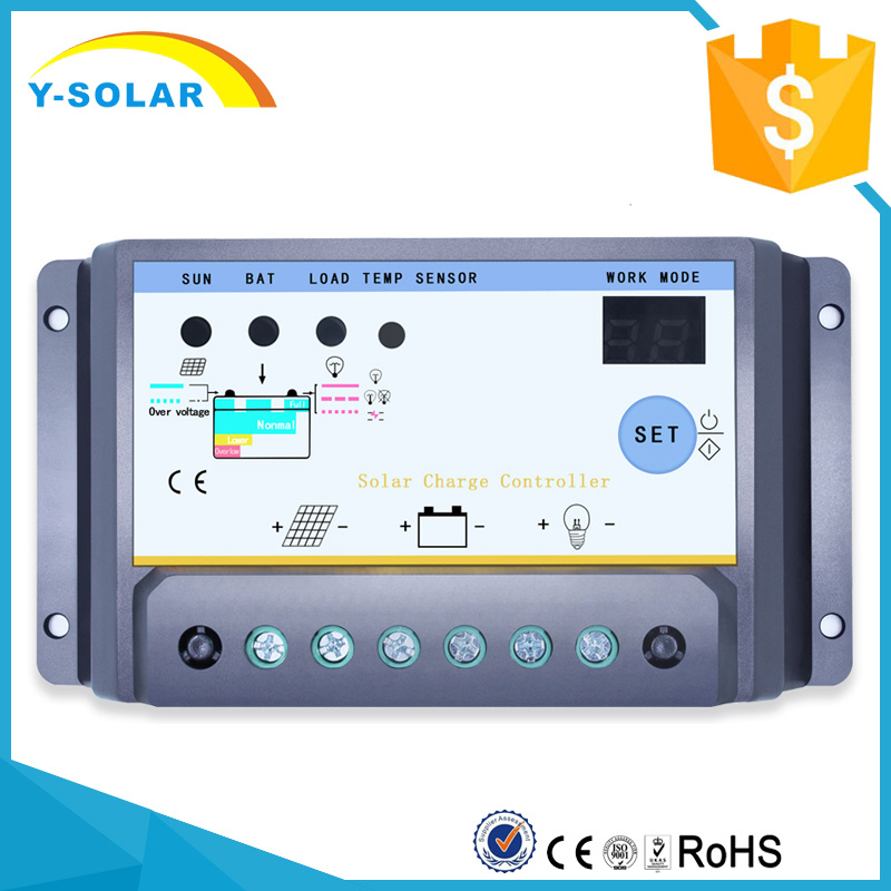 [Hot Item] 12V 24V 30A Solar Charge/Discharge Controller with Dual Timer  S30I
