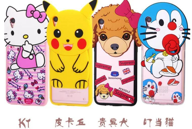 Cartoon Silicon Phone Case of iPhone, Vivo, Oppo, Xiaomi Redmi, Letv Use pictures & photos