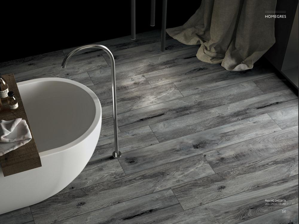 Dark Grey Wood Look Porcelain Ceramic, Grey Wood Tile Bathroom