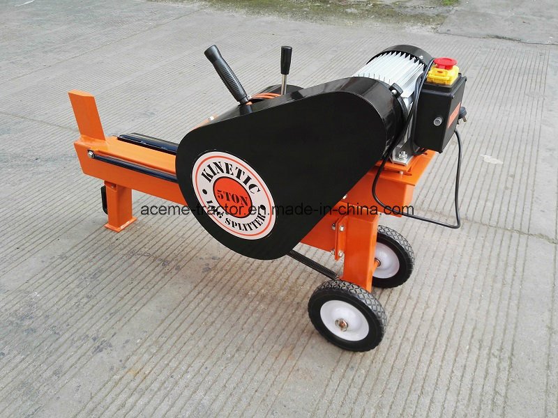 5ton Rapid Strike Electric Kinetic Log Splitter with Ce pictures & photos