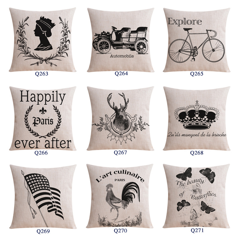 18 Inch Square PE Foam Simple Throw Pillows Bed pictures & photos