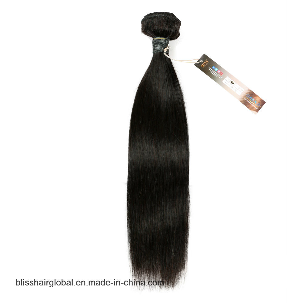 "Bliss Emerald Sg 100g Straight 8""-30"" 7A 100% Virgin Remy Brazilian Human Hair Top Grade Unprocessed Dyeable Cheap Bundle Hair pictures & photos"