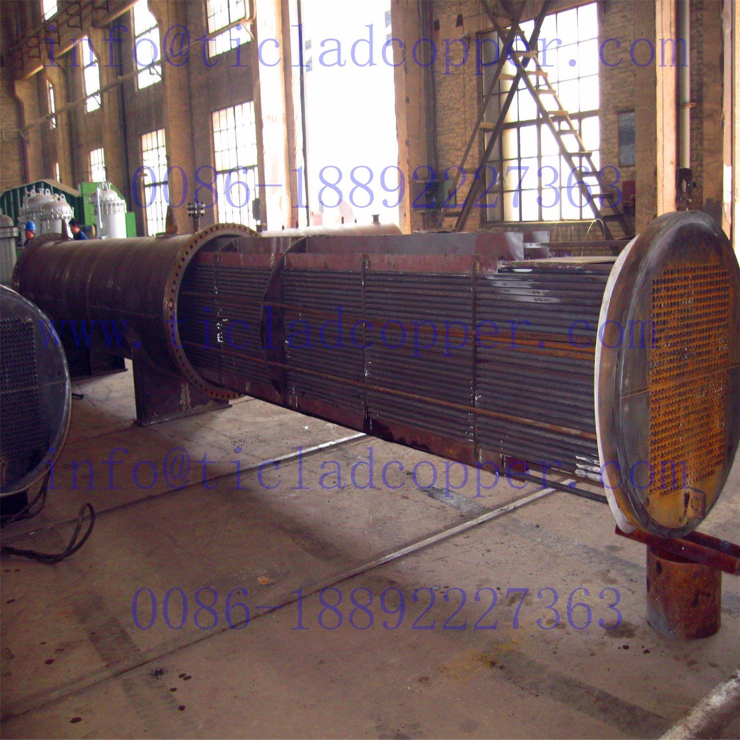 ASME Titanium Heat Exchanger pictures & photos