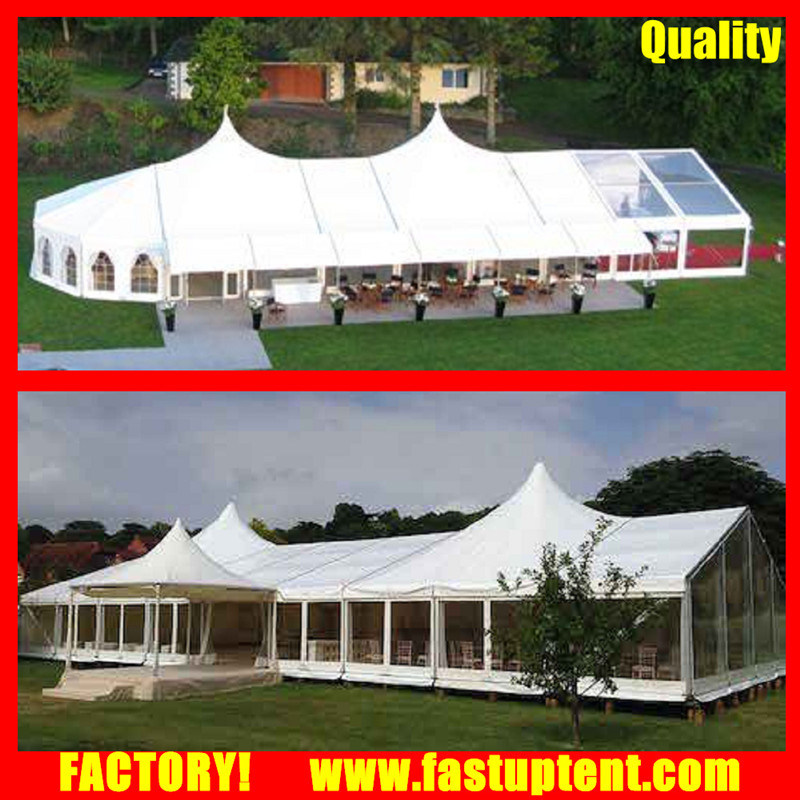 Strong Aluminium High Peak Canopy Party Tent Installing in Fastup Tent  sc 1 st  Guangzhou Fastup Tent Manufacturing Co. Limited & China Strong Aluminium High Peak Canopy Party Tent Installing in ...